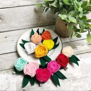 Accessories - Boho Handmade lot of Flower Hair Accessories